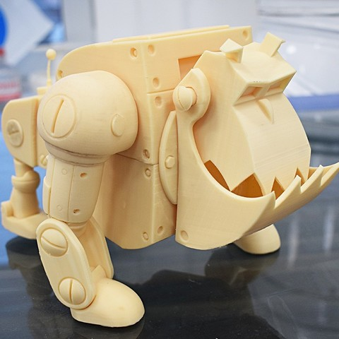 Download 3D printer model Chip Dale Robo Dog, IvanVolobuev