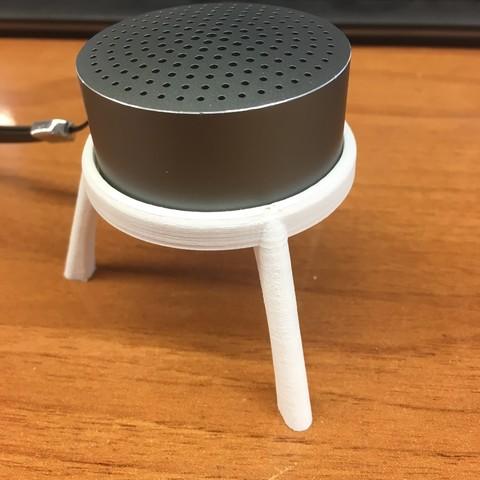 Download 3D printer model Xiaomi Speaker Support My Bluetooth Speaker, shonduvilla