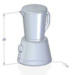 batidora1.JPG Télécharger fichier STL Barbie Mixer • Plan imprimable en 3D, shonduvilla