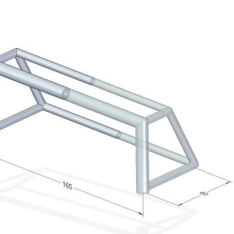 Descargar modelos 3D para imprimir Porteria Futbol chapas, shonduvilla