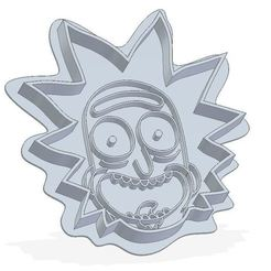 Descargar modelos 3D para imprimir Rick and Morty cookie mould, shonduvilla