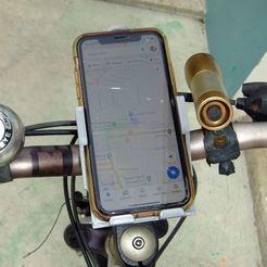 Descargar modelo 3D Soporte de teléfono (iPhone XR) para bicicleta y mesa - ¡Nueva versión!, steadirob