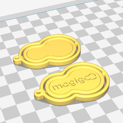 Cura image.PNG Download free STL file Corporate gift keychain • 3D printing object, Castigliano