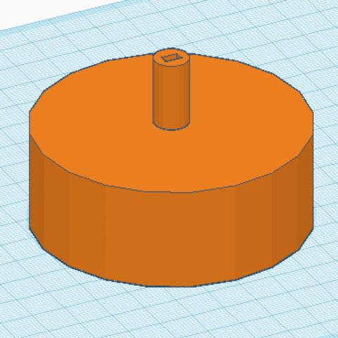 Plan imprimante 3D Petite roue., YounesAmalou