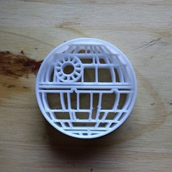 Cookie Cutter Death Star STL file, rodocraft