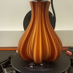 "Free 3d printer files ""Cog"" vase, Sinie47"