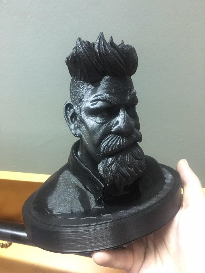 38515496_10217156072913002_8767122351104983040_n.jpg Download STL file Zombie Hunter Bust  • Template to 3D print, Bstar3Dart