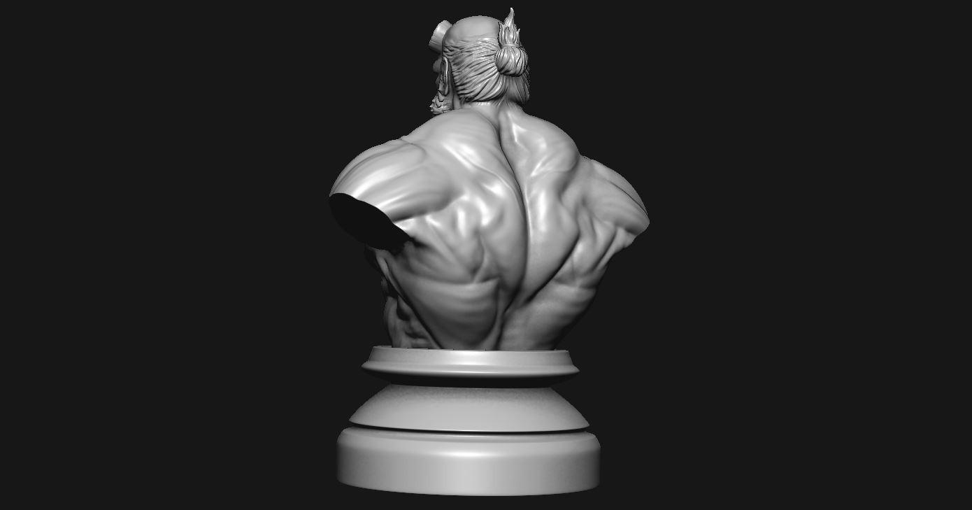 4.JPG Download STL file HELLBOY 2019 • 3D printable model, Bstar3Dart