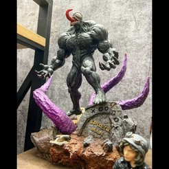 Download 3D printer designs Super Venom - Marvel 3D print model, Bstar3Dart