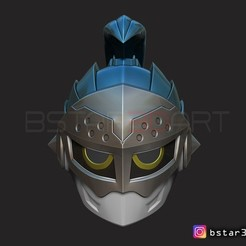 Download 3D printing models Kamen Rider Brave - Helmet for cosplay, Bstar3Dart