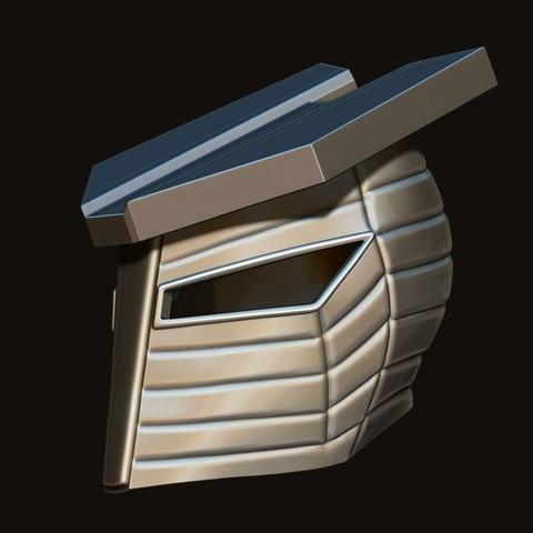 12.JPG Download STL file Destroyer Helmet from Marvel 3D print model • 3D printer object, Bstar3Dart