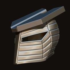12.JPG Télécharger fichier STL Casque Destroyer de Marvel modèle d'impression 3D • Plan imprimable en 3D, Bstar3Dart
