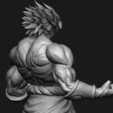 Descargar diseños 3D Figura Broly High Quality - dragonball FighterZ, Bstar3Dart