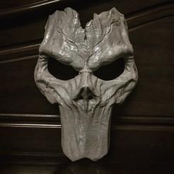 Descargar modelos 3D para imprimir Death Mask - Modelo de impresión en 3D de Darksiders, Bstar3Dart