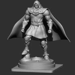 3d model Dr-Doom from marvel Comic, Bstar3Dprint