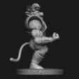 6.JPG Download STL file Oozaru Baby - Dragon ball - 3D print model  • Object to 3D print, Bstar3Dart