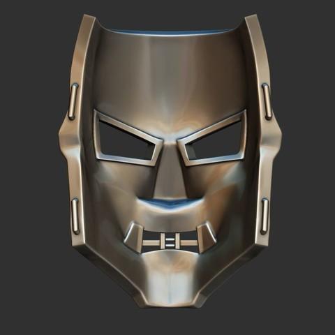 5.JPG Download STL file Doom mask - Helmet Marvel 3D print model • 3D printable model, Bstar3Dart