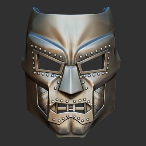 1.JPG Download STL file Doom mask - Helmet Marvel 3D print model • 3D printable model, Bstar3Dart