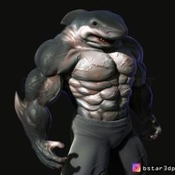 Descargar archivo 3D El arte del Hombre Tiburón, Bstar3Dart