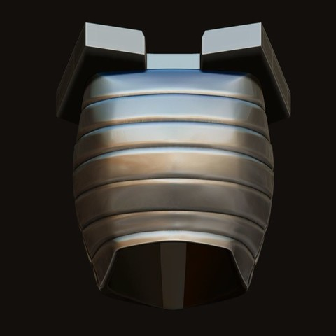 15.JPG Download STL file Destroyer Helmet from Marvel 3D print model • 3D printer object, Bstar3Dart