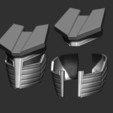 10.JPG Download STL file Destroyer Helmet from Marvel 3D print model • 3D printer object, Bstar3Dart