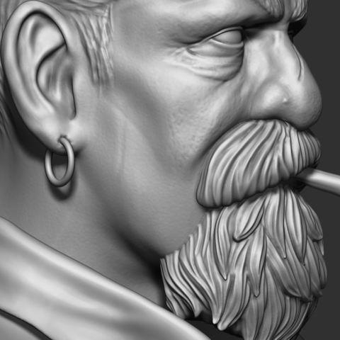 23.JPG Download STL file Zombie Hunter Bust  • Template to 3D print, Bstar3Dart
