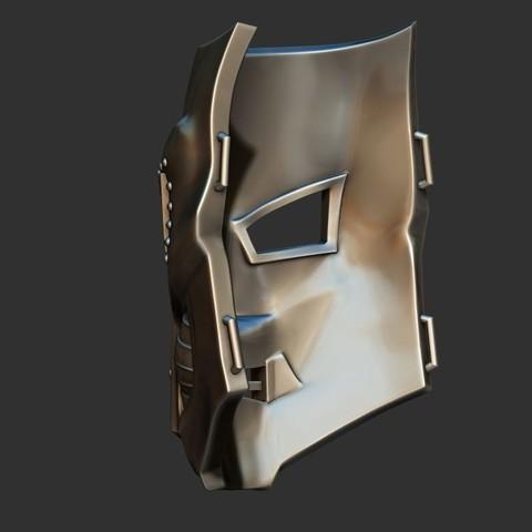 4.JPG Download STL file Doom mask - Helmet Marvel 3D print model • 3D printable model, Bstar3Dart