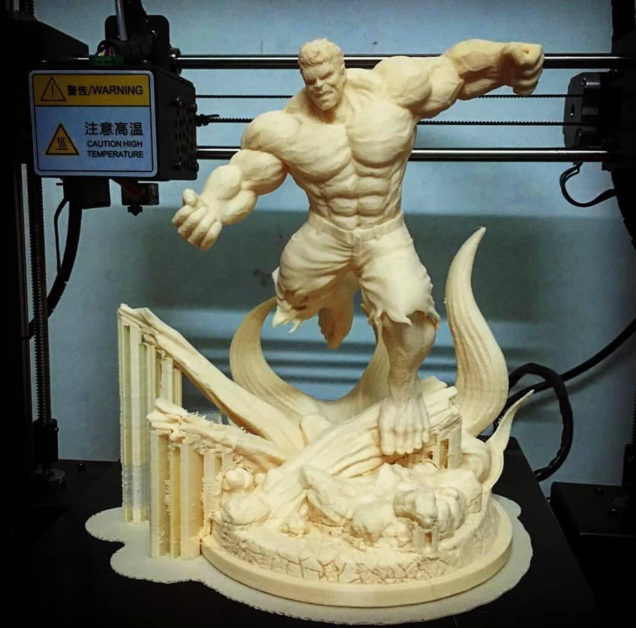 49487644_10218342046081590_6862690043392163840_o.jpg Download STL file Hulk Angry - Super Hero - Marvel 3D print model • 3D print model, Bstar3Dart
