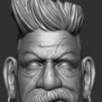 21.JPG Download STL file Zombie Hunter Bust  • Template to 3D print, Bstar3Dart