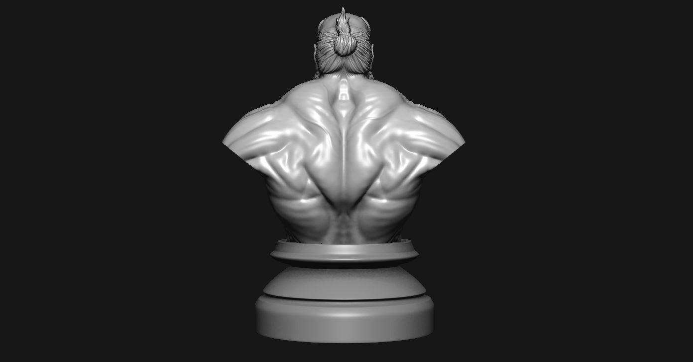 5.JPG Download STL file HELLBOY 2019 • 3D printable model, Bstar3Dart