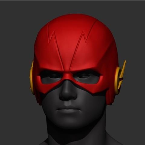 STL files Flash Helmet SS5 , Bstar3Dprint