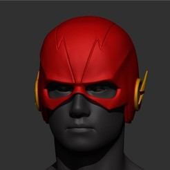 STL files Flash Helmet SS5 , Bstar3Dprint
