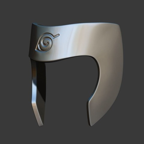 2.JPG Download STL file Tobirama Senju Mask - Second Hokage - Naruto Cosplay 3D print model • Template to 3D print, Bstar3Dart