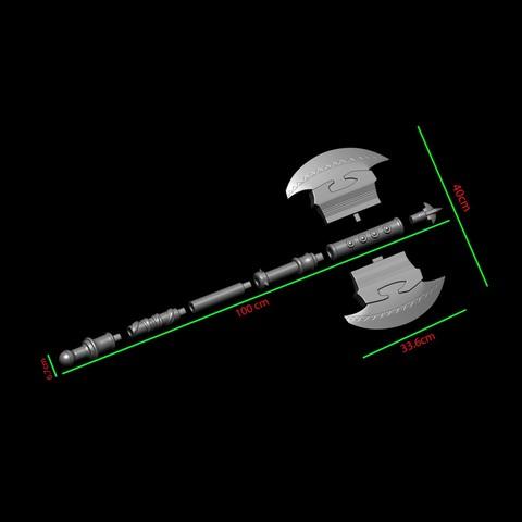 23.JPG Download OBJ file AXE-Warhammer • Object to 3D print, Bstar3Dart