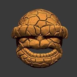 Download 3D printing files The Thing Mask - Fantastic Four - Marvel Hemet, Bstar3Dart