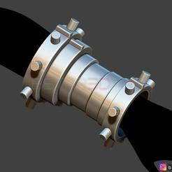 16.jpg Download STL file Cloud Arm Armor - Final Fantasy VII remake PS4  • Design to 3D print, Bstar3Dart