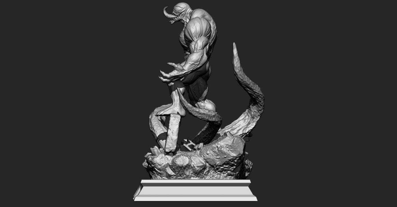 5.JPG Download STL file Super Venom - Marvel 3D print model • 3D printer model, Bstar3Dart