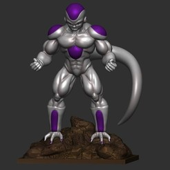 3d print files Frieza - Dragon Ball Z, Bstar3Dprint