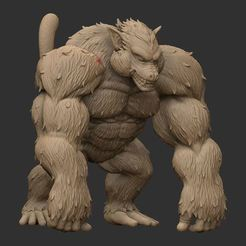 Oozaru - Goku - Dragonball Z 3D model, blackstar90