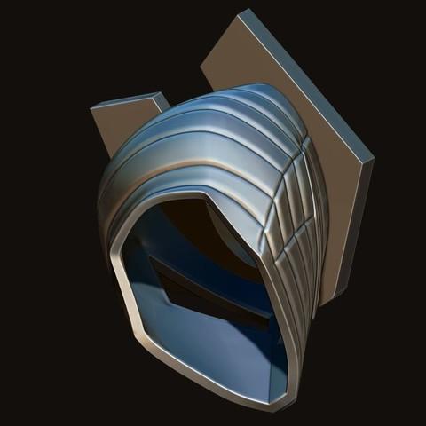 17.JPG Download STL file Destroyer Helmet from Marvel 3D print model • 3D printer object, Bstar3Dart