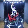 Download STL Super Frieza fighting from Dragon Ball Z 3D print model, Bstar3Dart
