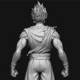 Télécharger modèle 3D GOKU super saiyan v2 - Dragonball Super Super, Bstar3Dart