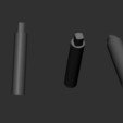 19.JPG Download OBJ file AXE-Warhammer • Object to 3D print, Bstar3Dart