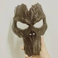 STL files Death Mask - Darksiders 3D print model, Bstar3Dprint