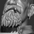 24.JPG Download STL file Zombie Hunter Bust  • Template to 3D print, Bstar3Dart