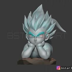Diseños 3D GotenKS Ghost versión 03 de Dragon Ball Z, Bstar3Dprint