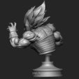 3D printer models Vegeta Bust - dragonball Z, Bstar3Dprint