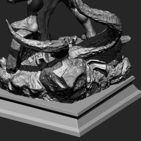 20.JPG Download STL file Super Venom - Marvel 3D print model • 3D printer model, Bstar3Dart