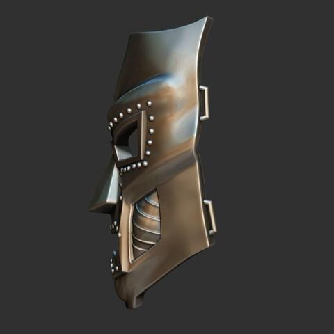 3.JPG Download STL file Doom mask - Helmet Marvel 3D print model • 3D printable model, Bstar3Dart