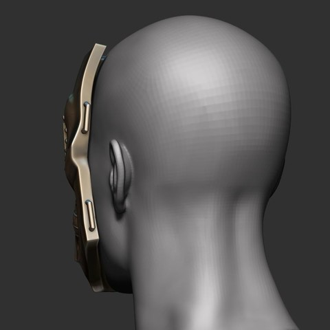 8.JPG Download STL file Doom mask - Helmet Marvel 3D print model • 3D printable model, Bstar3Dart